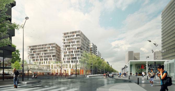 T7b2 paris rive gauche fres architectes for Fres architectes