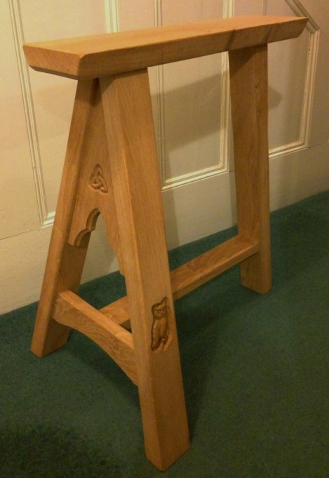 Alnwick Castle Trestle Tables C T Hollins Bespoke